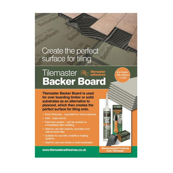 Tilemaster Backer Board Rochford Intertrade Ltd