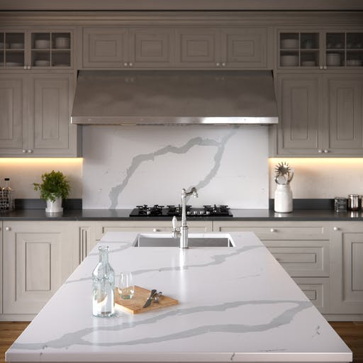 Silestone Eternal Bianco Calacatta Quartz Rochford