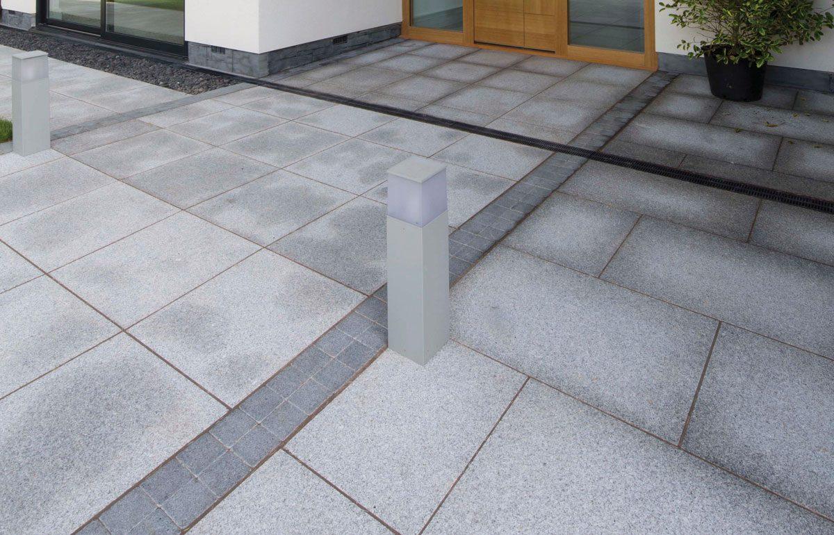 Granite Exterior Paving