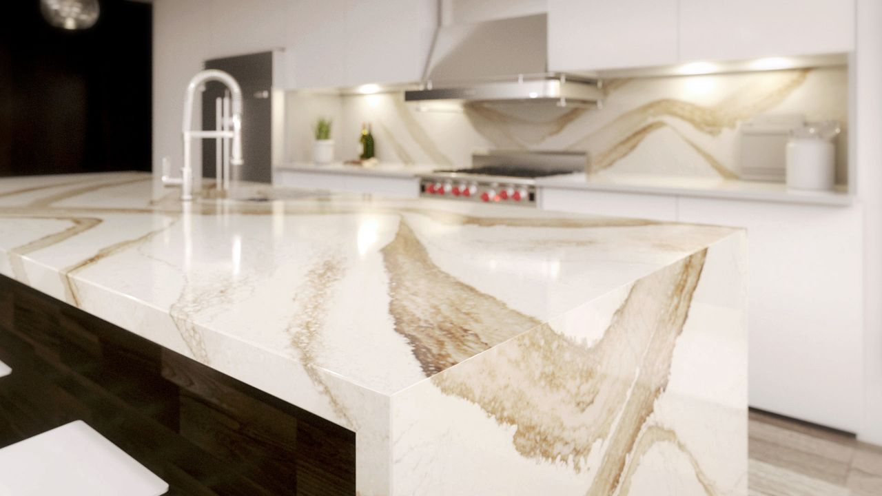 Cambria Brittanicca Gold Quartz From Rockford Stone
