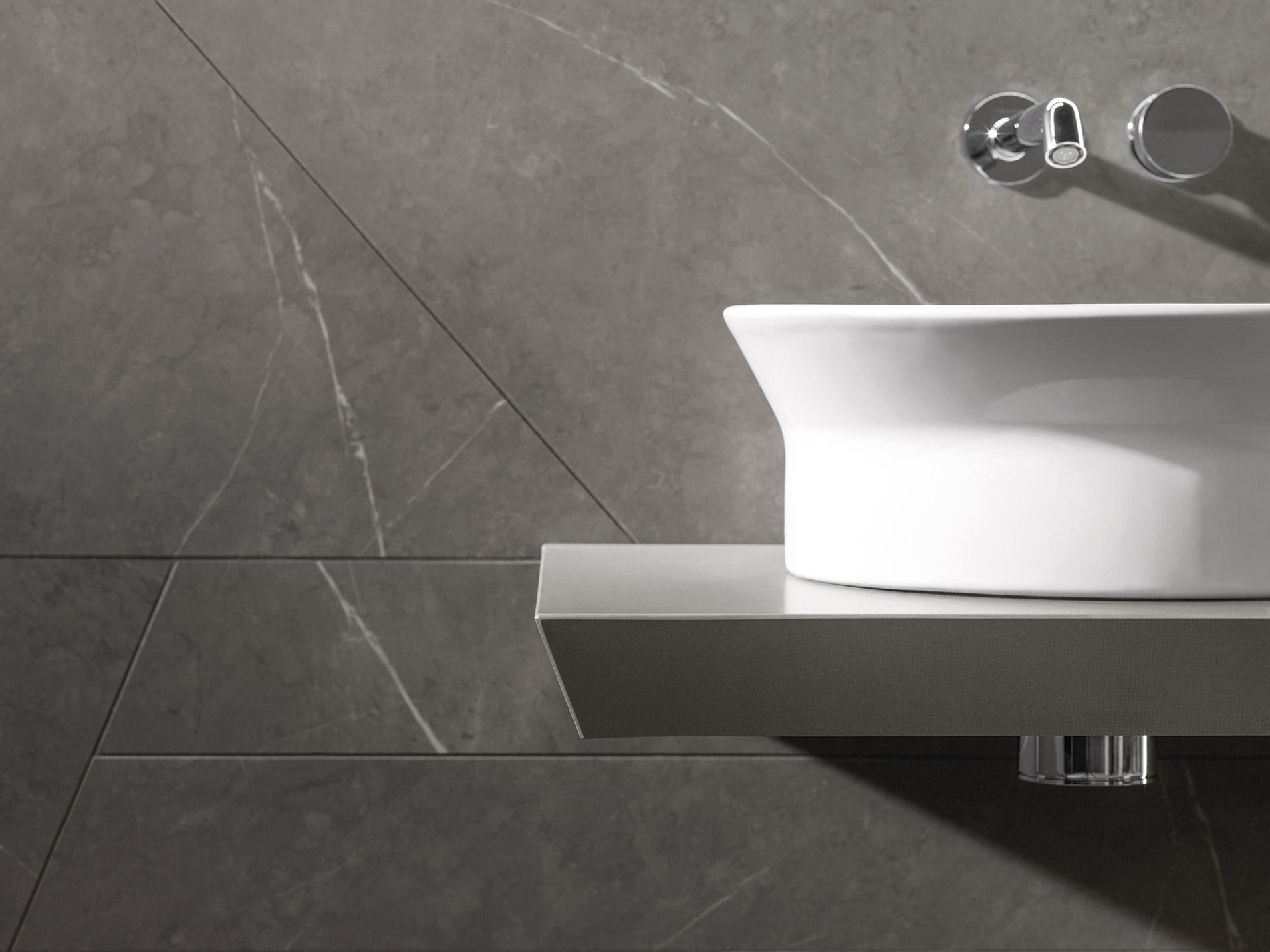 Kitchen Tiles Dark Grey