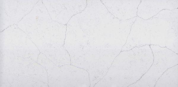 quartz white marble effect